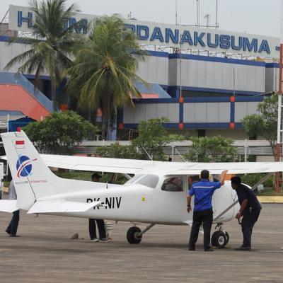 Nusa Flying School Pesawat