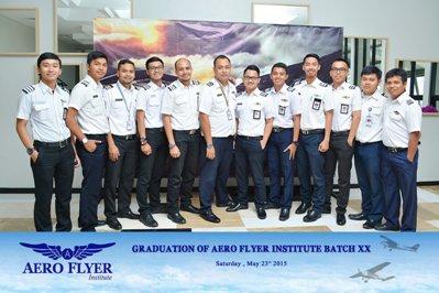 Aero Flyer Institute Cadet Graduation