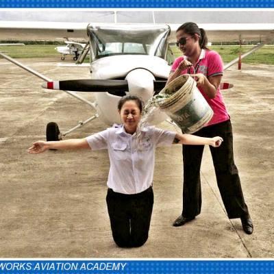 Airworks Aviation Academy Solo Flight Celebration