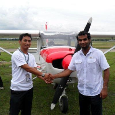 Cheynair Solo Flight Graduation