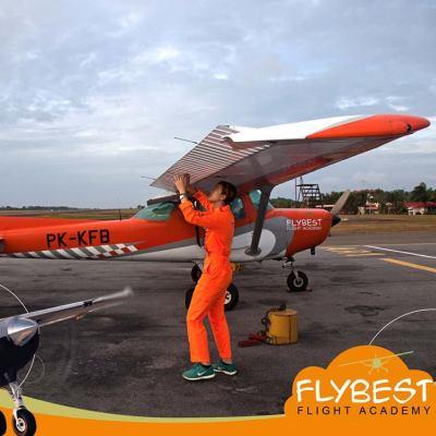 Flybest Flight Academy Cadet Checking Fleet