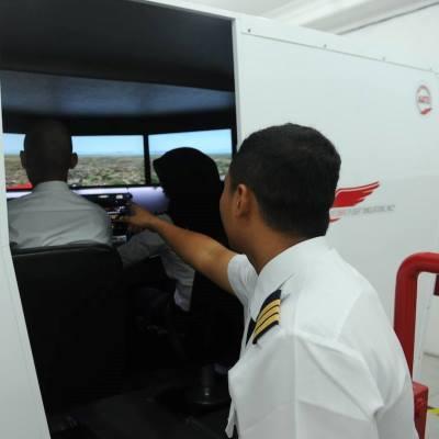 Genesa Flight Redbird Simulator