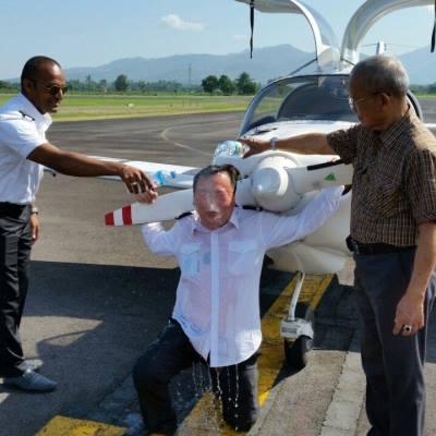 Lombok Institute of Flight Technology Graduation